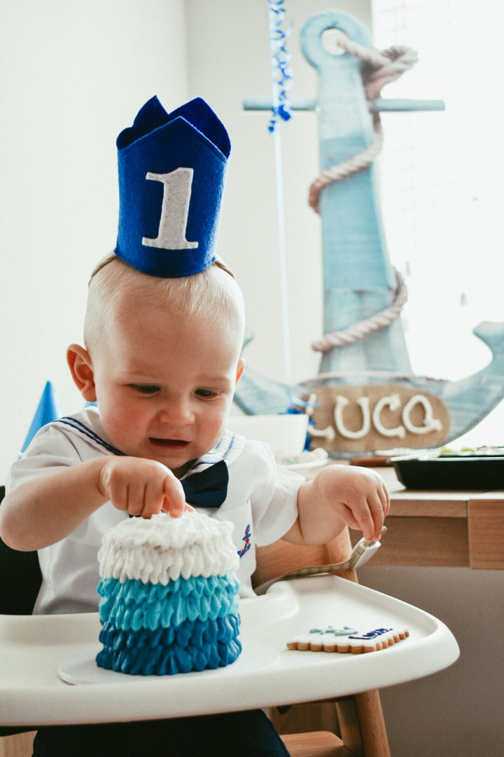 Luca's Nautical Themed 1st Birthday