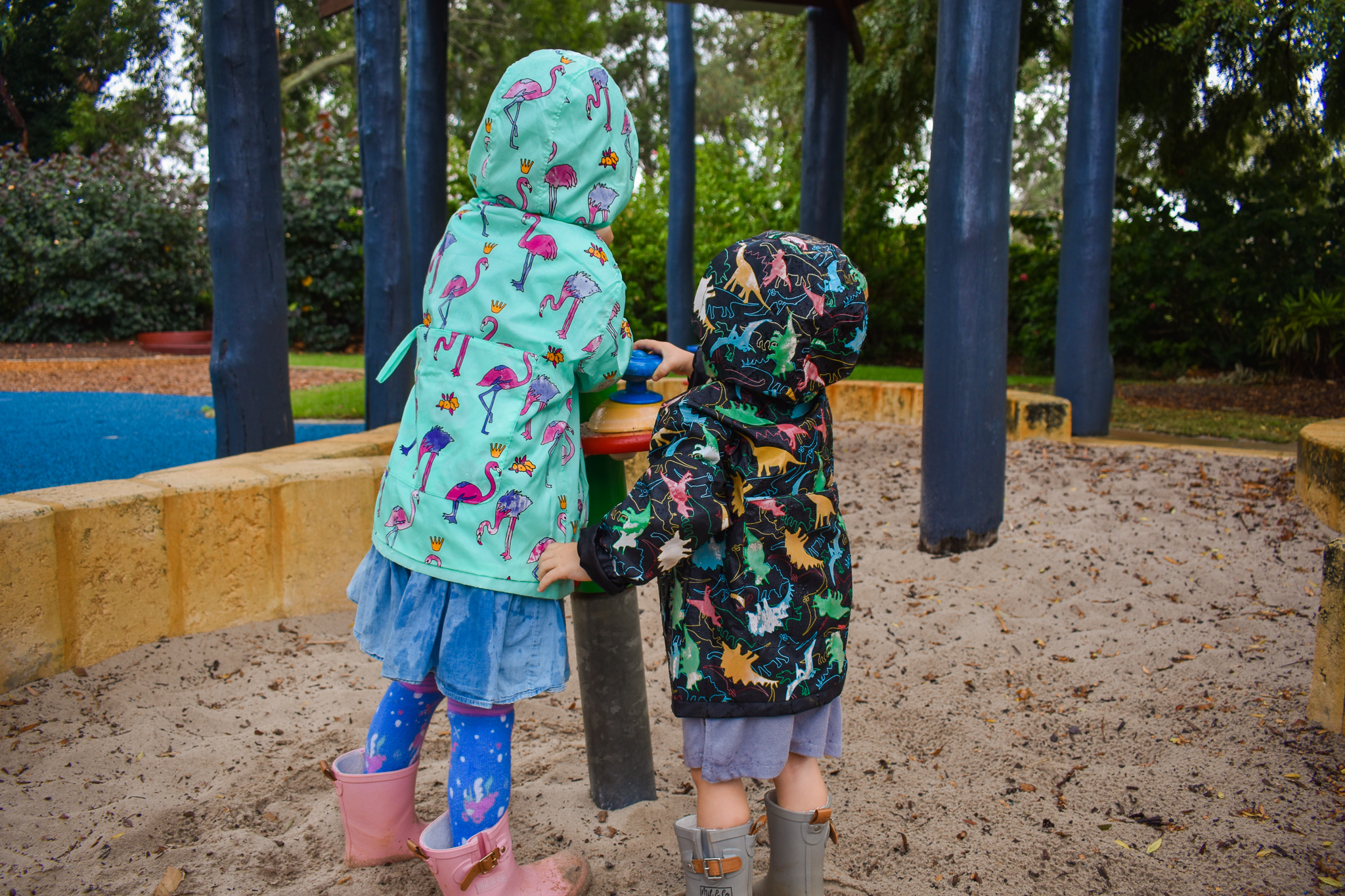Kids rain jacket 