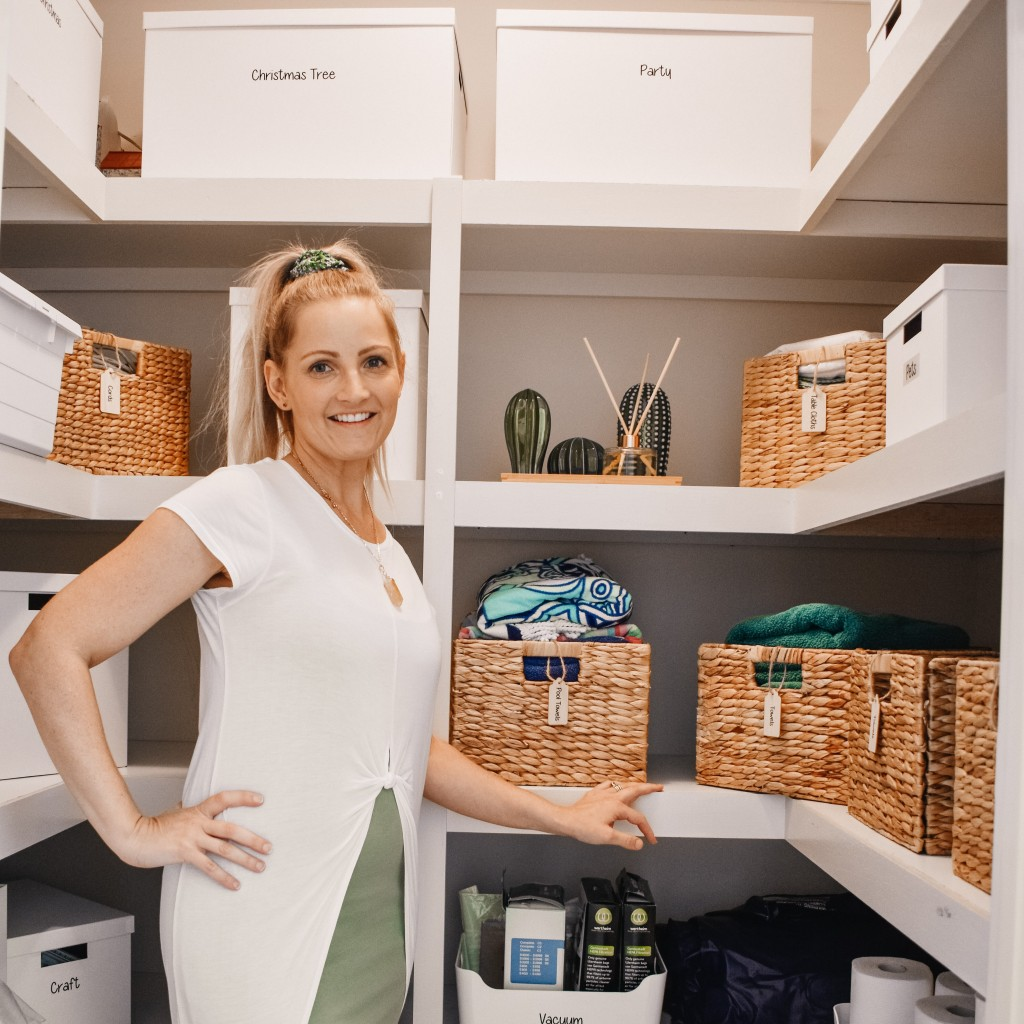 Organizing Linen Cupboard